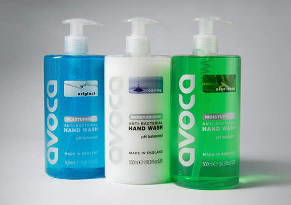 John Drury Avoca Liquid Hand Soap – Aloe Vera (6 pack)